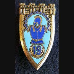 19° régiment du Génie OFSI Paris en émail