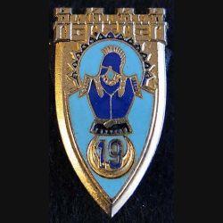 19° régiment du Génie de fabrication OFSI en émail