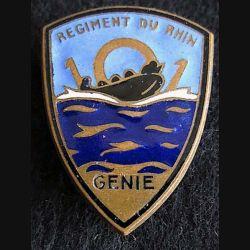 101° régiment du Génie Arthus Bertrand avec poinçon