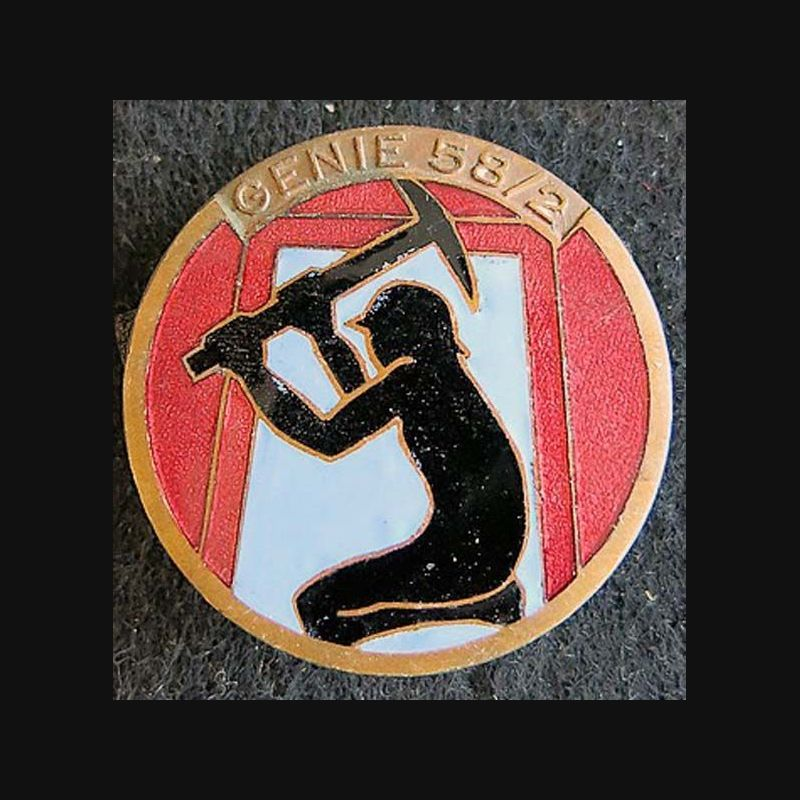 58 Email Oils Contact Usco Ltd Mail: 2° Compagnie Du 58° Bataillon De Sapeurs Mineurs En émail