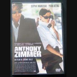 """DVD intitulé """" Anthony Zimmer """" film avec Sophie Marceau et Yvan Attal (C151)"""
