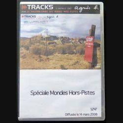 """DVD intitulé """" spécial Mondes Hors-Pistes """" film de Tracks 14 mars 2008 (C151)"""