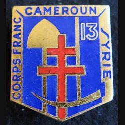 13° bataillon du Génie corps francDrago Paris en émail