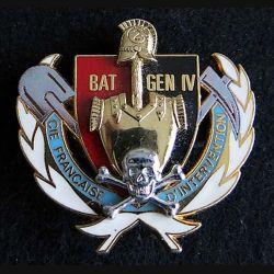 compagnie française d'intervention du BAT GEN 4 FORPRONU Delsart