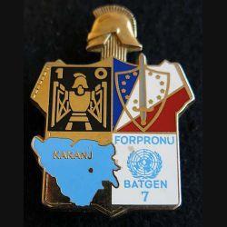 10° régiment du Génie BAT GEN 7 FORPRONU
