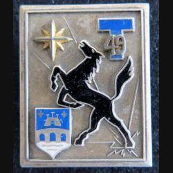 49° régiment de transmissions  Fraisse Paris G. 2935 émail