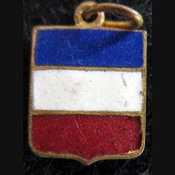 blason en émail de la FRANCE 11 x 16 mm anneau maillon