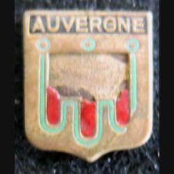 Blason en émail de l'Auvergne 14 x 19 mm défaut d'émail