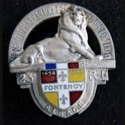 23° régiment d'infanterie  Arthus Bertrand
