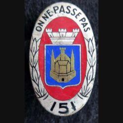 151° régiment d''infanterie Arthus Bertrand Déposé