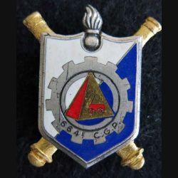 664° compagnie de gestion de parc Drago Paris G. 1523 émail deux boléros