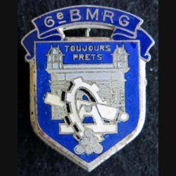 6° bataillon du Matériel de réserve générale  Drago Paris H. 788 en émail