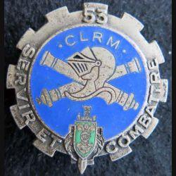53° compagnie légère de réparation du Matériel Drago G. 1786 émail attache cassée