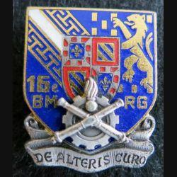 16° bataillon du Matériel de réserve générale  Drago Paris G. 2130 en émail