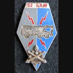 53° groupement de réparation du Matériel émail Drago Paris G. 2622 attache cassée