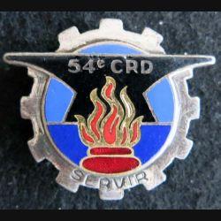 54° compagnie de réparation divisionnaire de fabrication Drago Paris G. 846 en émail
