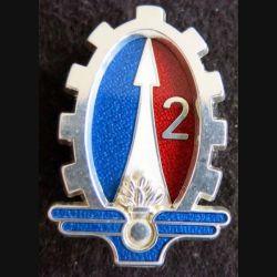 2° régiment du matériel prestige translucide argenté Boussemart 2001