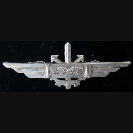 SMT : insigne métallique du brevet du service militaire des transports de fabrication Ballard GS 91 numéroté 000