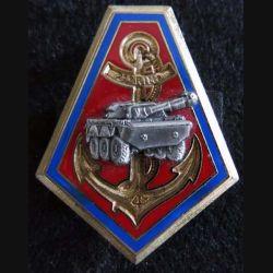 21° RIMA : insigne métallique du 4° escadron du 21° régiment d'infanterie de marine  Delsart