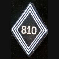 LOSANGE DE BRAS MODÈLE 45 : losange de bras de cadre du 810° GRET transmissions