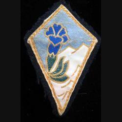27° DA : insigne tissu de la 27° division alpine