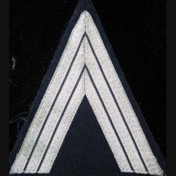 galon argenté de sergent chef de la gendarmerie départementale