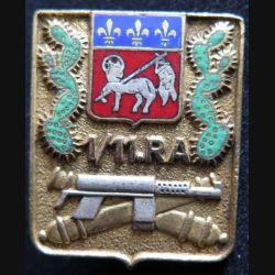 11° RA : insigne du 1° groupe du 11° régiment d'artillerie en émail Drago G. 1478