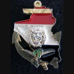 3° RIMA : insigne 1° compagnie du 3° régiment d'infanterie de marine Daguet  FIA