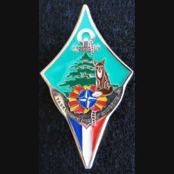 OTAN : insigne de la compagnie Minerve de la task force Fox en Macédoine