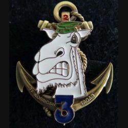 3° RIMA : insigne 2° compagnie du 3° régiment d'infanterie de marine Afghanistan 2009 TF Korrigan