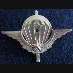 BREVET PARA :  insigne métallique de brevet parachutiste Cameroun 1 étoile Drago