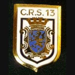 CRS 13 : COMPAGNIE RÉPUBLICAINE DE SÉCURITÉ 13