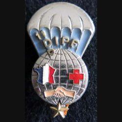 11° DIPF : insigne métallique 11° détachement d'intervention parachutiste féminin 11° division parachutiste Drago G. 3132