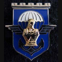 17° RGP : insigne métallique 17° régiment du génie parachutiste fabriqué par Arthus Bertrand pour les éditions Atlas