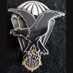 11° DP EM : insigne métallique de l'état major de la 11° division parachutiste Drago G. 2477