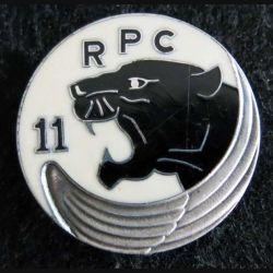 11° RPC : insigne métallique du 11° régiment parachutiste de choc de fabrication Balme G. 3324