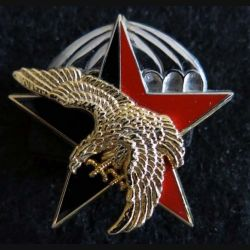 11° DBPC : insigne métallique du 11° demi brigade parachutiste de choc