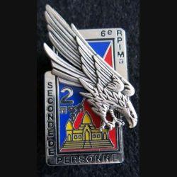 6° RPIMA : 2° compagnie du 6° Régiment parachutiste d'infanterie de  marine au Cambodge  Boussemart