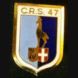 CRS 47 : COMPAGNIE RÉPUBLICAINE DE SÉCURITÉ 47