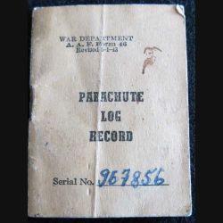 CARNET PARACHUTE : carnet Parachute Log Record Book série 967856
