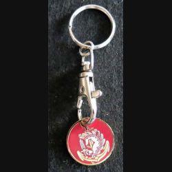 PORTE CLEFS : porte clefs avec jeton représentant l'insigne des RPIMA