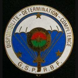 GSP RBF : Groupe de sécurité de la présidence de la République du Burkina Faso