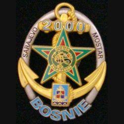 RICM : RÉGIMENT D'INFANTERIE CHARS DE MARINE 9°DIMA BOSNIE 2000 (190)