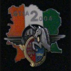 1° RHP : 1° RÉGIMENT DE HUSSARDS PARACHUTISTES GTIA 2004