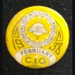 PIN'S DU SYNDICAT UNITED AUTOMOBILE WORKERS OF AMERICA 1938 (L23)