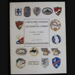 0. L'ARTILLERIE D'ASSAUT & CHARS DE COMBAT SYMBOLE & TRADITIONS