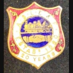 PIN'S ASSOCIATED SOCIETY OF LOCOMOTIVE ENGINEERS & FIREMEN (L25)