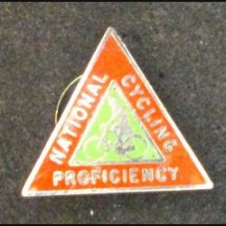 PIN'S ANGLAIS NATIONAL CYCLING PROFICIENCY (L25)