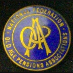 INSIGNE NATIONAL FEDERATION OLD AGE PENSIONS ASSOCIATIONS (L25)