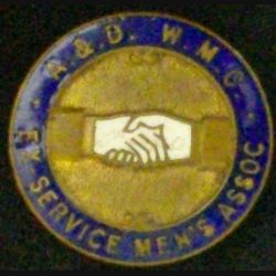 INSIGNE A.&.D. W.M.C EX-SERVICE MEN'S ASSOCIATION (L25)